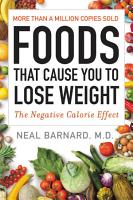 Foods That Cause You to Lose Weight PDF