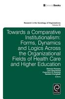 Towards a Comparative Institutionalism PDF