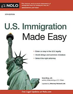 U S  Immigration Made Easy Book