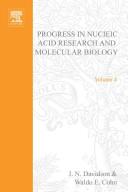 Prog Nucleic Acid Res Molecular Bio PDF