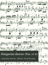 Hungarian dances: Nos. 11-21