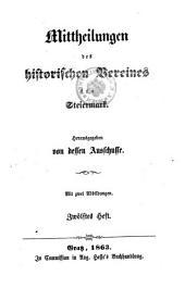 Mittheilungen des Historischen Vereines für Steiermark: Bände 12-13