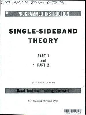 Single sideband Theory  Part 1 and Part 2 PDF