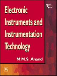 Electronic Instruments And Instrumentation Technology Book PDF