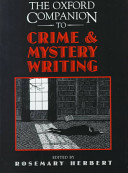 The Oxford Companion to Crime and Mystery Writing PDF