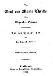Der Graf von Monte Christo: Bände 1-5