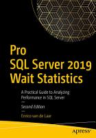Pro SQL Server 2019 Wait Statistics PDF