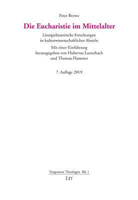 Die Eucharistie im Mittelalter PDF