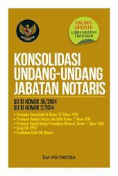Konsolidasi Undang-Undang Jabatan Notaris