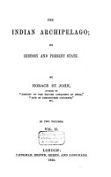 The Indian Archipelago PDF
