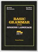 Basic Grammar of the Spanish Language PDF