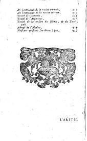 L'arithmétique en sa perfection, par François Legendre