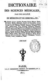Dictionaire des sciences médicales: Volume2
