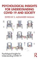 Psychological Insights for Understanding COVID 19 and Society PDF