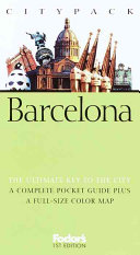 Fodor's Citypack Barcelona, 1st Edition