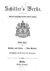 Werke: Kabale und Liebe. Don Karlos, Band 3