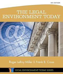 The Legal Environment Today Book