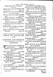 Les Epistres spirituelles... divisées en sept livres... recueillies par Messire Louys de Sales