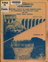 Final Environmental Assessment  Proposed Safety of Dams Modification to Horseshoe and Bartlett Dams on the Verde River  Arizona PDF