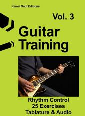 Guitar Training Vol. 3: Rhythm Control