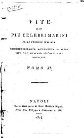 Vite de' Piu Celebri Marini Tomo XI