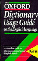 The Oxford Dictionary and Usage Guide to the English Language PDF