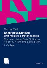 Deskriptive Statistik und moderne Datenanalyse PDF