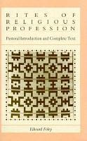 Rites of Religious Profession PDF