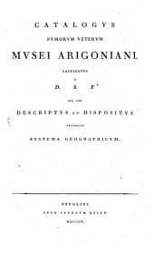 Catalogus Nummorum veterum musei Arigoniani