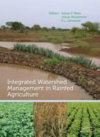 Integrated Watershed Management in Rainfed Agriculture PDF