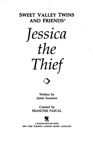 Jessica the Thief PDF