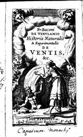 Historia naturalis et experimentalis de ventis