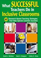 What Successful Teachers Do in Inclusive Classrooms PDF