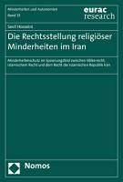 Die Rechtsstellung religi  ser Minderheiten im Iran PDF