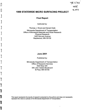 1999 Statewide Micro Surfacing Project PDF