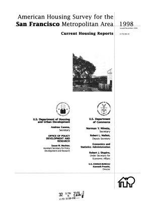 Current Housing Reports PDF