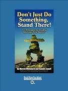 Dont Just Do Something  Stand There  Book
