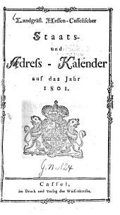 Landgräflich-Hessen-Casselischer Staats- und Adreß-Calender