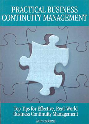 Practical business continuity management