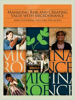 Managing Risk and Creating Value with Microfinance PDF
