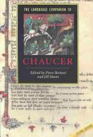 The Cambridge Companion to Chaucer PDF
