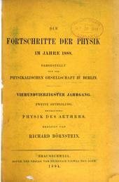 Die Fortschritte der Physik: Band 44,Teil 2