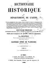 Dictionnaire historique du département de l'Aisne...