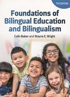 Foundations of Bilingual Education and Bilingualism PDF