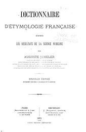 Dictionnaire d'étymologie française d'après les résultats de la science moderne
