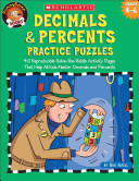 Decimals and Percents Practice Puzzles PDF
