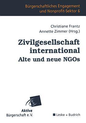 Zivilgesellschaft international Alte und neue NGOs PDF