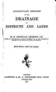 Rudimentary Treatise on the Drainage of Districts and Lands     PDF