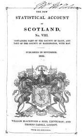 The New Statistical Account of Scotland: Volume 8