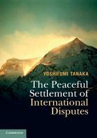 The Peaceful Settlement of International Disputes PDF